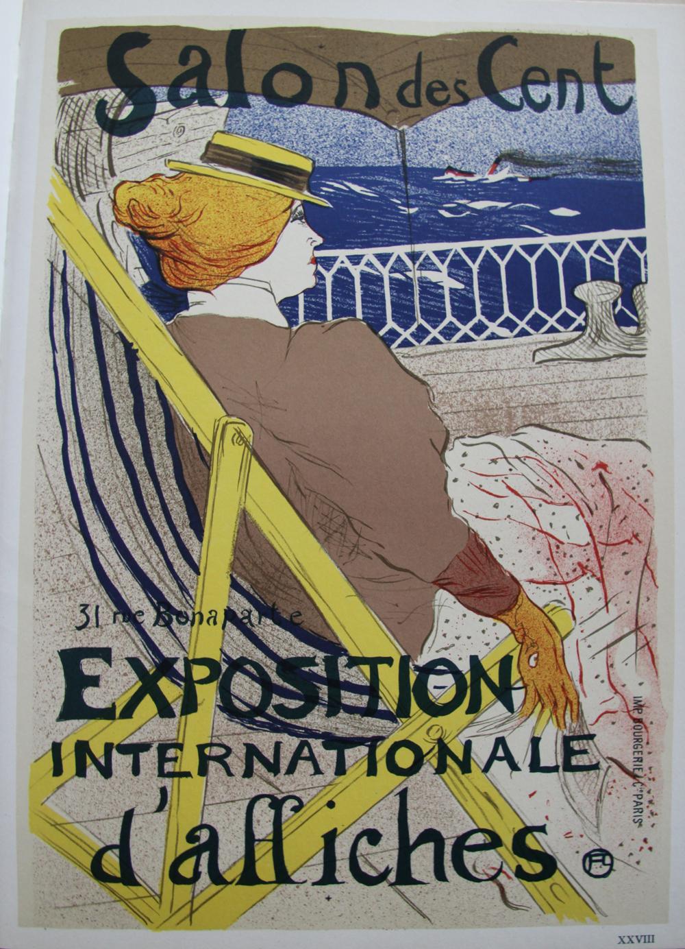 36b118664bc La passagere du 54 1896   Lithographie originale signée de TOULOUSE LAUTREC  Henri de